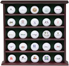 Jef World of Golf 25 Ball Rosewood Collector39s Cabinet