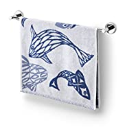 Assorted Fish Print Towel