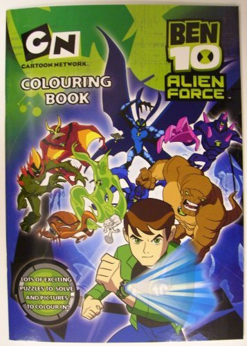 Ben 10 Alien Force: Colouring Activity Book