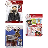 The Elf On The Shelf Accessory Bundle: T Shirts, Puffy North Pole Parka Jacket And Elf Pets Polar Pattern Set...
