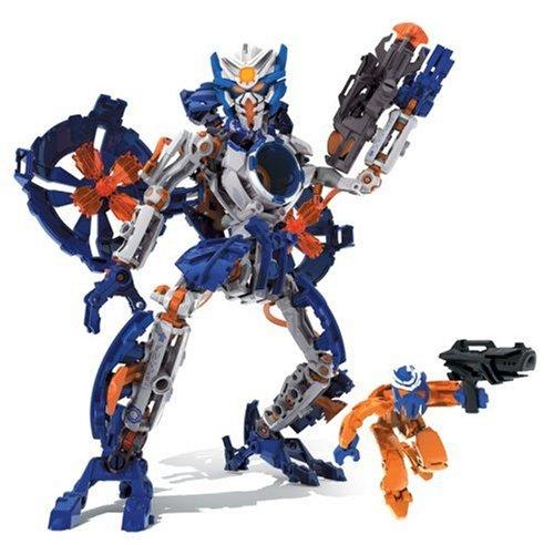 Mega Bloks - Neo Shifters Robot -Magna Rex -Blue-Paladin Leader