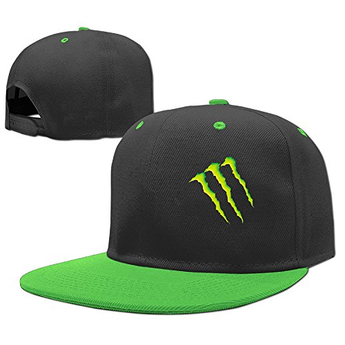 Sammy Stunna Monster Remix Prod Energy Child Dad Hip Hop Fitted Hats Caps (Monster Hats Energy compare prices)