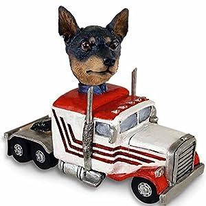 Amazon.com - Miniature Pinscher Tan and Black Truck Tractor Doogie