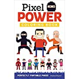 img - for Pixel Power Coloring Book: Perfectly Portable Pages (On the Go) book / textbook / text book