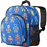 Wildkin Olive Kids Robots Pack 'n Snack Backpack