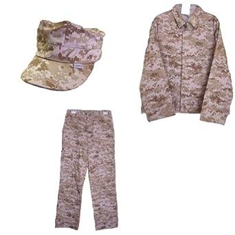 3 Piece Trooper Children's Desert Digital Camo Pattern Uniform Set (10)