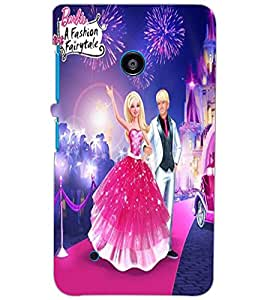 NOKIA LUMIA 530 DUAL COUPLE Back Cover by PRINTSWAG