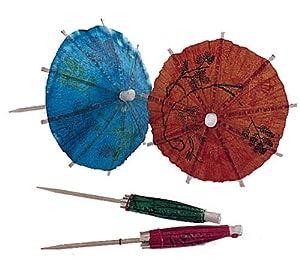 Update International PC-PAR Parasol Toothpicks, 4-Inch