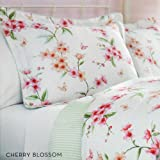 Charisma Cherry Blossoms Queen Comforter Bedding Set By Westpoint Home