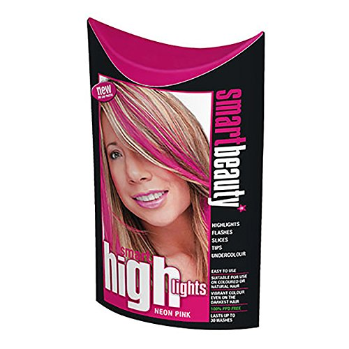smart-highlights-neon-pink-hair-colour