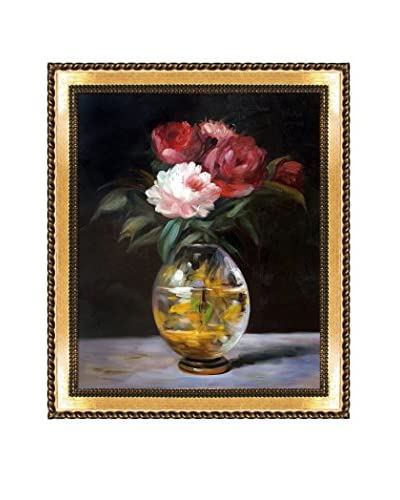 "Édouard Manet ""Bouquet Of Flowers"" Framed Hand-Painted Oil Reproduction"