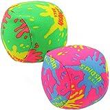 CostMad Beach 2x Soak N Throw Balls Water Splash Bomb Outdoor Garden Summer Swimming Pool Kids Holiday Game Fun Party Bag Toy