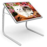 Unique Gadget Table Mate Designer Portable Adjustable Dinner Cum Laptop Tray Table