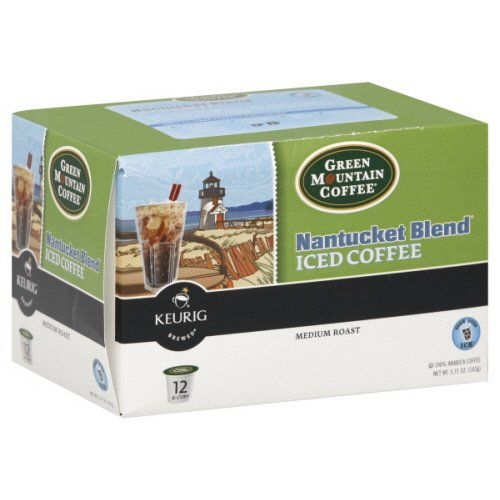 Green Mountain Coffee Coffee, Iced, K-Cups, Medium Roast, Nantucket Blend , 12 Ct.