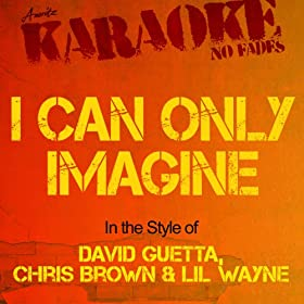 I Can Only Imagine (In the Style of David Guetta, Chris Brown & Lil Wayne) [Karaoke Version]