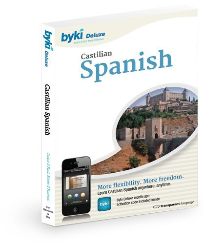 Spanish Before You Know It Byki 4.0 (Deluxe Edition) front-805616