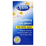 6 x Optrex Soothing Eye Drops for Itchy Eyes 10ml
