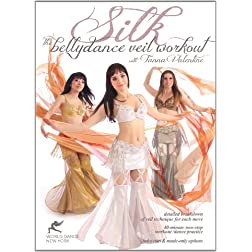 Silk - The Bellydance Veil Workout / Dance Practice &amp; Tutorial