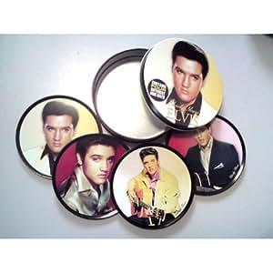Elvis Coaster Gift Set