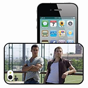 .com: Personalized iPhone 4 4S Cell phone Case/Cover Skin Mario Casas