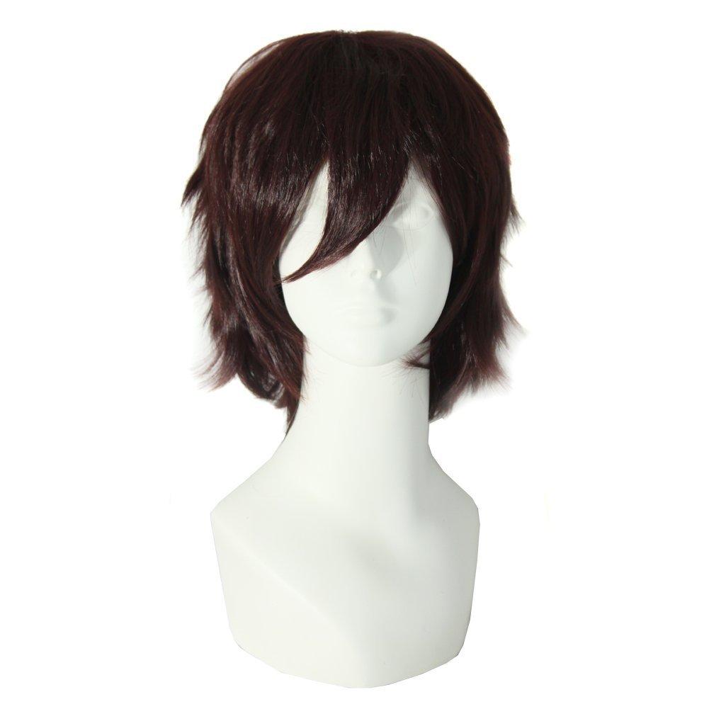 iLoveCos Wigs Men s Short  L Death Note Cosplay Wig
