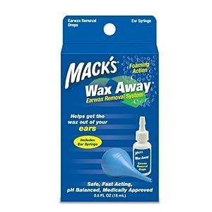 Mack's Wax Away Earwax Removal Aid