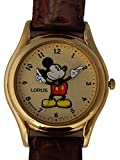 Mickey Mouse Lorus Watch Tooled Hands