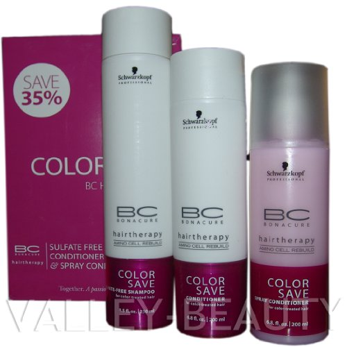 494199ef12 SCHWARZKOPF Professional Beauty Set Color Save - BC Hairtherapy Trio