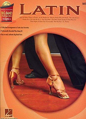 Big Band Play Along Vol.6 Latin Bass CD