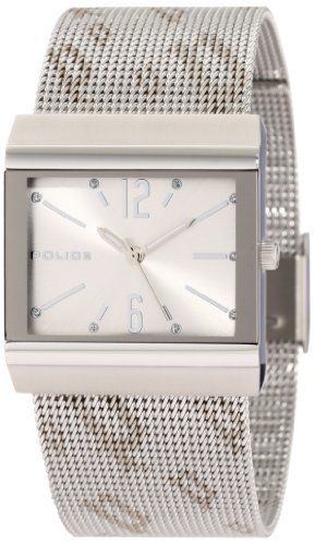 Police Ladies Virtue Watch 10813BS/04M with Silver Dial