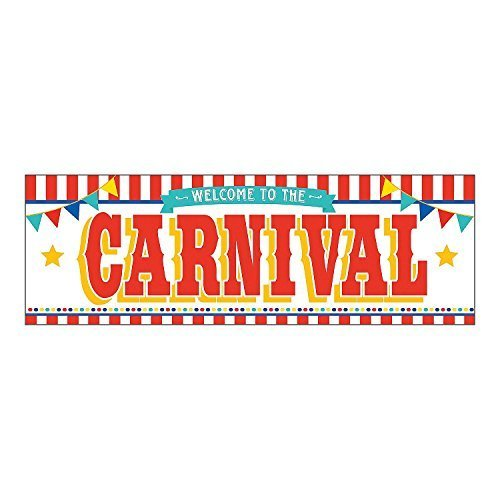 Big Top Carnival Banner - 6 Feet x 3 Feet