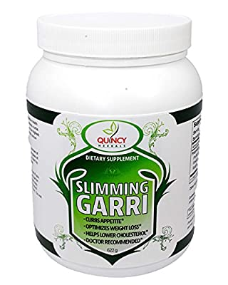 All Natural Effective Weight Loss Powder, Natural Orange Flavor, Fiber Rich, Colon Cleanse with Garcinia Cambogia, African Mango, Raspberry Ketones, Vegetarian, Strong Appetite Suppressant, Stimulant Free
