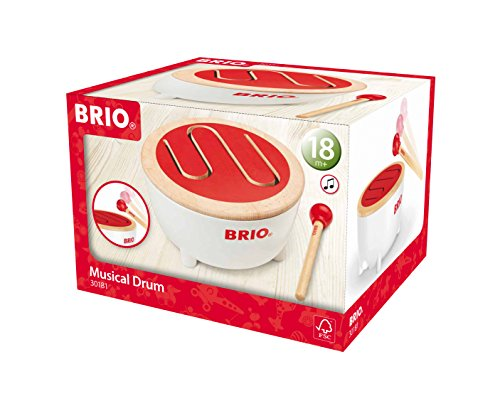 BRIO Musical Drum Baby Toy - 1