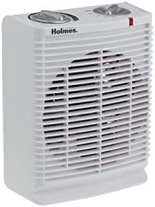 Holmes Desktop Heater Fan with Comfort Control Thermostat, HFH111T-U
