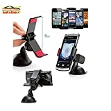 Car Mobile Holder Mount Cradle Holder Bracket Holder UniversaL Stand 360 Degree Rotating Windshield Mobile / GPS...