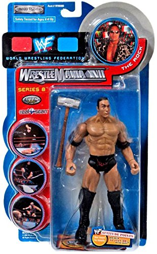 The Rock WWF WrestleMania XVII Series 8