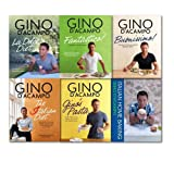 Gino D'Acampo Gino D'Acampo Italian Collection 6 Books Set Pack, (Fantastico!: Modern Italian Food, Buonissimo: Minimun effort, maximum satisfaction, Gino's Pasta: Everything You Need to Cook the Italian Way, The I Diet:, La Dolce Diet & Italian Home Bak