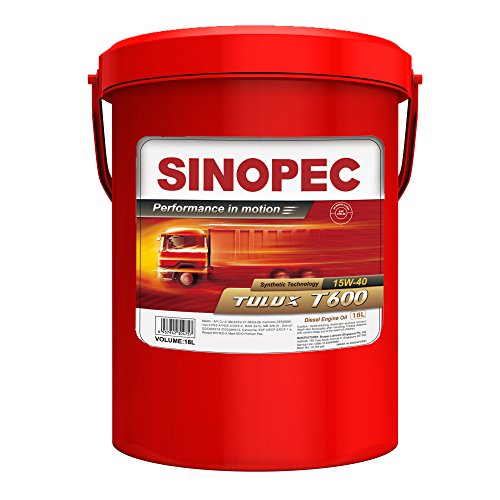 Sinopec Tulux Synthetic Blend Diesel Engine Oil, 5 gal (Mobil 15w40 Diesel Oil compare prices)
