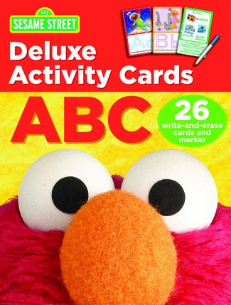 Deluxe Activity Cards Sesame Abcs (A Word That Starts With J)