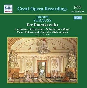 Strauss: Der Rosenkavalier [1933 Recording]