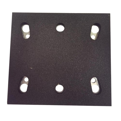 Superior Electric Spd17 Sanding Pad -1/4 Sheet Psa 6 Holes Replaces Makita Oe # 158324-9 front-583470