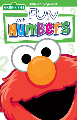Sesame Street - Fun with Numbers Write On Wipe Off Book Party Accessory - 1
