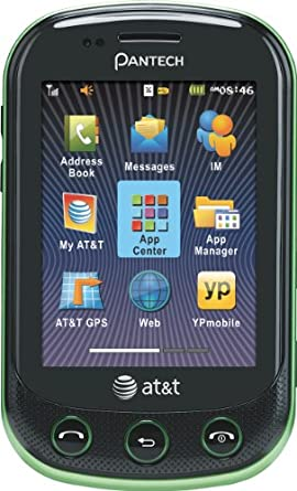 Pantech Pursuit II Phone, Green (AT&T)