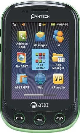 Pantech Pursuit II Phone, Green (AT&T)