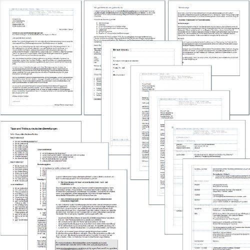 bewerbungspaket technik bewerbungs ratgeber checklisten