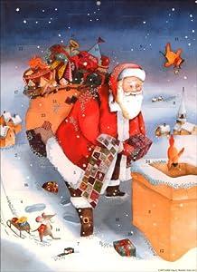 Advents-Kalender Weihnachtsmann auf dem Dach from Nord-Sued Verlag AG