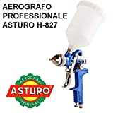 Aerografo H-827 professionale Asturo HVLP pistola verniciatura