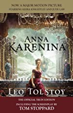 Anna Karenina (Movie Tie-in Edition): Official Tie-in Edition Including the screenplay by Tom Stoppard (Vintage Classics)