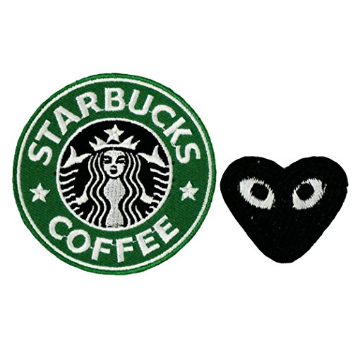 [Starbucks Embroidered Iron On Patch] (Last Minute Halloween Costumes For Babies)