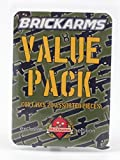 "BrickArms Value Pack: 20 Random BrickArms Weapons for 2.5"" Figures"